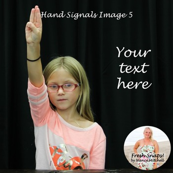 Hand Signals Image 5