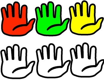 Classroom Management- Hand Signals-Red, Green and Yellow
