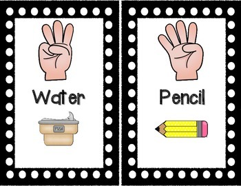 Hand Signals Signs