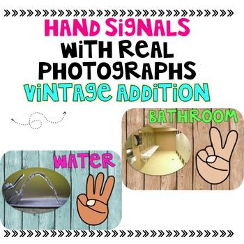 Hand Signals (Vintage Style)