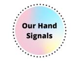 Hand Signals-Watercolor