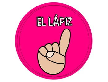 Hand Signals for Classroom Management Spanish