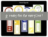 Hand Signals for Classroom Management