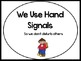 Hand Signals for Little Learners