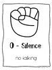 Hand Signals for Voice Levels