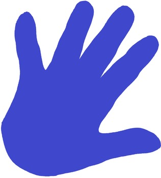 Hand Solid Clipart