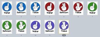 Hand Symbols Posters