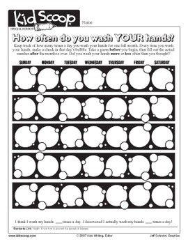 Hand Washing Activity Packet