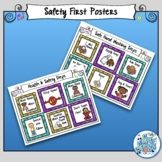 Hand Washing & Health & Safety Tips Posters for Music Class