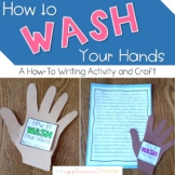 Hand Washing How To Writing Activity and Craft | Hand Wash