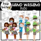 Hand Washing Kiddies (The Price of Teaching Clipart Set)