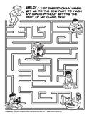 Hand Washing Maze