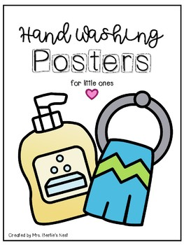 Hand Washing Posters