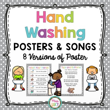 photo about Printable Hand Wash Signs referred to as Hand Washing Techniques Worksheets Instruction Materials TpT