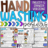 Hand Washing Posters in English and Spanish