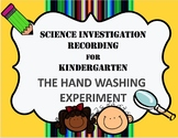 Hand Washing Science Experiment Recording Sheet