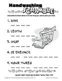 Hand Washing Scramble