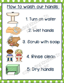 image regarding Printable Hand Washing Sign identify Hand Washing Signs or symptoms Worksheets Instruction Components TpT