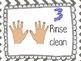 Hand Washing Steps Poster