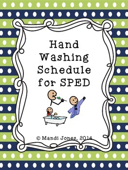 Hand Washing Visuals for SPED