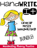 Hand Write It!  Clean Up Messy Handwriting-BUNDLE
