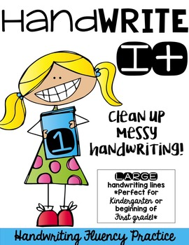 Hand Write It!  Clean Up Messy Handwriting-LARGE