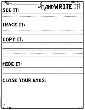 Hand Write It!  Clean Up Messy Handwriting-MEDIUM