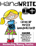 Hand Write It!  Clean Up Messy Handwriting-SMALL