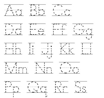 Hand Writing Practice for Beginners