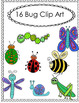16 Hand Drawn Bug Clipart for Commercial and Personal Use  Graphics