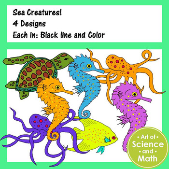 Clip Art - Sea Creatures
