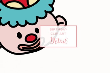 Hand-drawn Doodle Birthday Clip Art Package