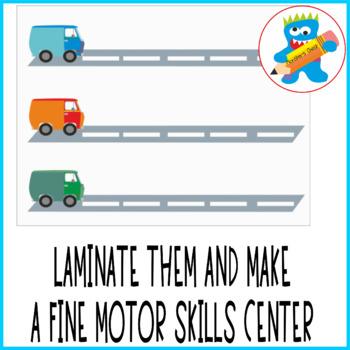 Fine motor skills free worksheets