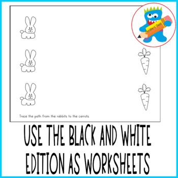 Fine motor skills free worksheets. 10 pages. All color.