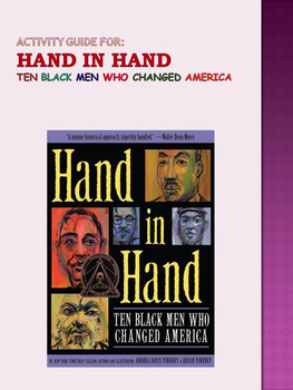 Hand in Hand: Ten Black Men Who Changed America Activity Guide