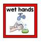 Hand-washing Procedures Signs