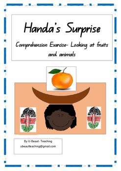 Handa's Surprise Comprehension Exercise