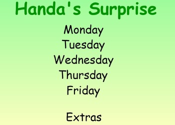 Handa's Surprise Guided Reading Weekly Lessons - Four Blocks Literacy