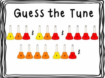 Handbell Guess the Tune (PowerPoint and Keynote)