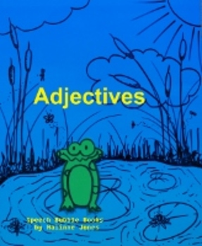 Adjectives - Coloring Worksheets - Describing - Vocabulary