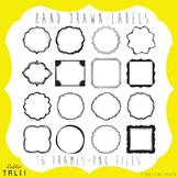 Handdrawn Frames Clip Art