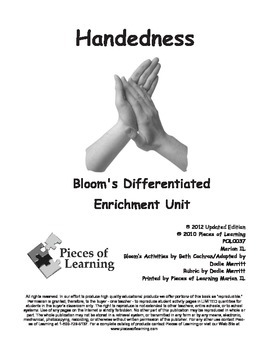 Handedness - Differentiated Blooms Enrichment Unit