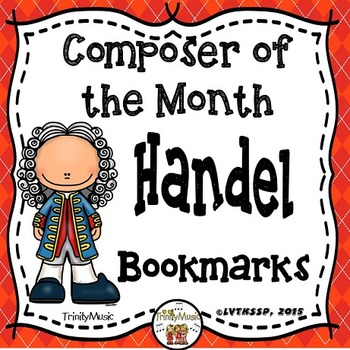 Handel Bookmarks (Composer of the Month)