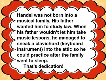 Handel Bulletin Board set