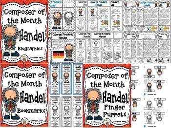 Handel Composer of the Month (BUNDLE)