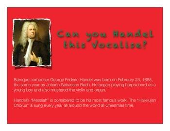 "Choir Vocalise using ""Hallelujah Chorus"" Excerpt for Singing Warm-Up"