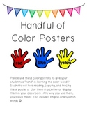 Handful of Color Posters (English & Spanish!)