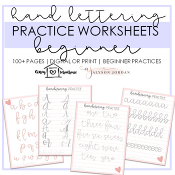 Cursive Writing Practice Sheet Teaching Resources