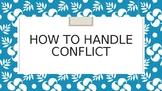 Handling Conflict PowerPoint