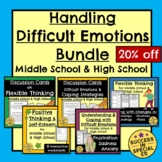 Handling Difficult Emotions Bundle Worksheets Task Cards M